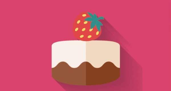 Торт с клубникой и сливками
